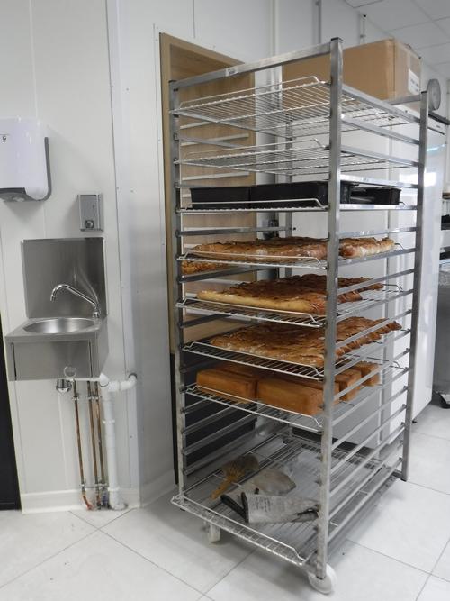 Echelle de boulangerie GUERY pour le stockage