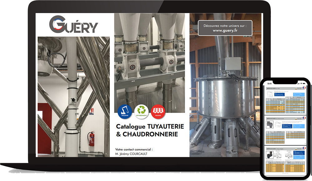 catalogue tuyauterie-chaudronnerie Guéry